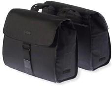 Basil Noir Double Pannier Bags