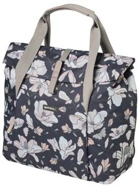 Basil Magnolia Shopper Pannier Bag