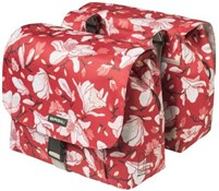 Product image for Basil Magnolia Double Pannier Bags