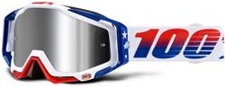 100% Racecraft Plus Injected Mirror Lens MTB Goggles