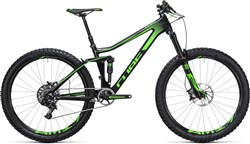 "Product image for Cube Stereo 140 C:62 SL 27.5"" - Nearly New - 20"" Mountain Bike 2017 - Full Suspension MTB"