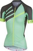 Castelli Aero Race FZ Short Sleeve Womens Jersey