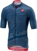 Product image for Castelli Israel FZ Short Sleeve Jersey