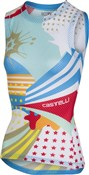 Castelli Pro Mesh Print Womens Sleeveless Jersey
