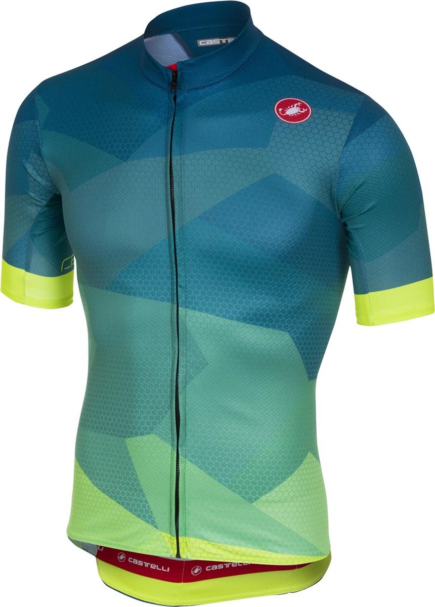 Castelli Flusso FZ Short Sleeve Jersey