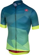 Product image for Castelli Flusso FZ Short Sleeve Jersey