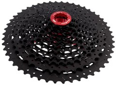 Product image for SunRace MX80 11 Speed Shimano/SRAM - Fluid Drive+ Cogs, Alloy Spacers & Lockring Cassette