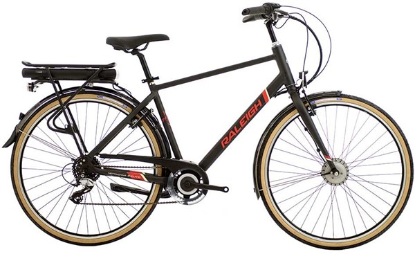 Raleigh Array E-Motion Crossbar 700c - Nearly New - M 2018 - Bike | City-cykler