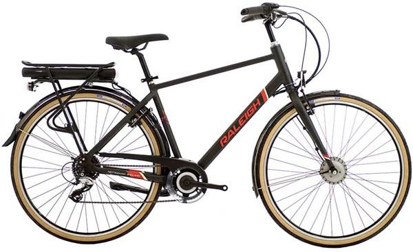 Raleigh Array E-Motion Crossbar 700c - Nearly New - M 2018 - Bike