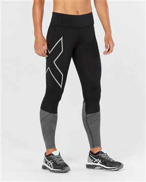 2XU Mid-Rise Womens Reflect Compression Tights