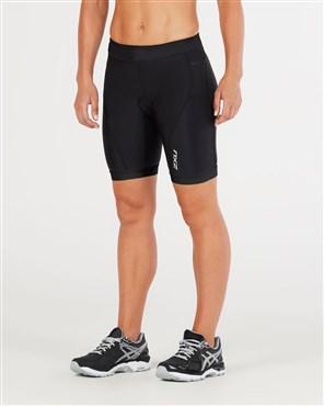 "2XU Active Womens 7"" Tri Shorts"