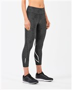 2XU Mid-Rise Print Womens7/8 Compression Tights