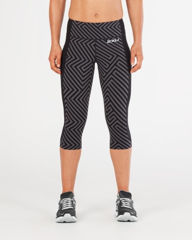 2XU Fitness Womens Compression 3/4 Tights | Compression