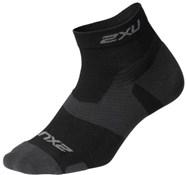 2XU Vectr Light Cush 1/4 Crew Sock
