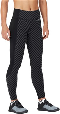 2XU Fitness Comp Womens Tights With Storage