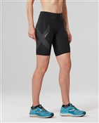 2XU Mid-Rise Womens Compression Shorts