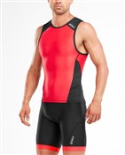 2XU Perform Rear Zip Singlet