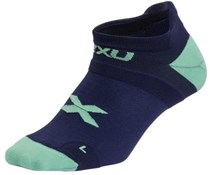 Product image for 2XU No Show Womens Socks