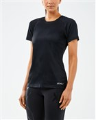 2XU XVENT Womens Short Sleeve Running Top
