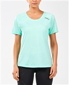 2XU GHST Womens Short Sleeve Top
