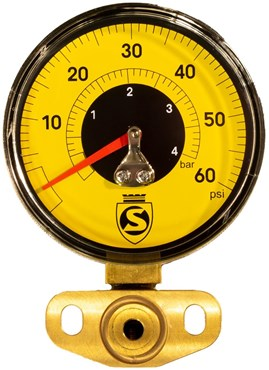 Silca SuperPista Ultimate Replacement Gauge Kit - Low Pressure 60psi (Yellow)