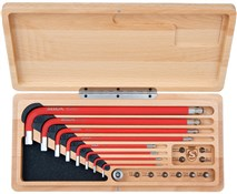 Product image for Silca HX1 Home and Travel Tool Drive Kit in Wood Box