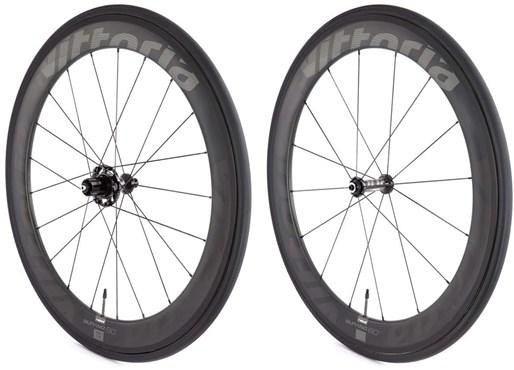 Vittoria Qurano 60 Carbon Clincher Wheelset - Sram/Shimano NoTool Freehub