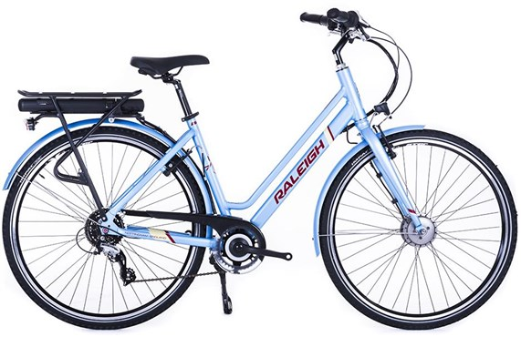 Raleigh Array E-Motion Low Step 700c Womens - Nearly New - M 2018 - Bike