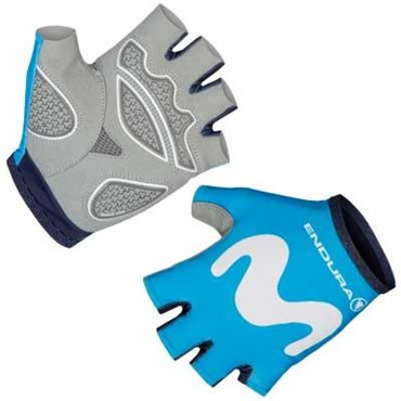 Endura Movistar Team Race Mitts / Gloves