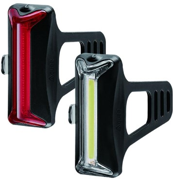 Guee Cob-X Front/Rear Black Twinset