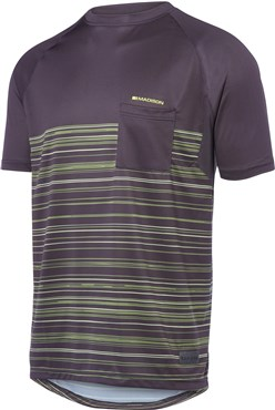 Madison Roam Pinned Stripe Short Sleeve Jersey
