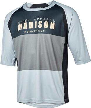 Madison Alpine 3 4 Sleeve Jersey e4dc36ee1