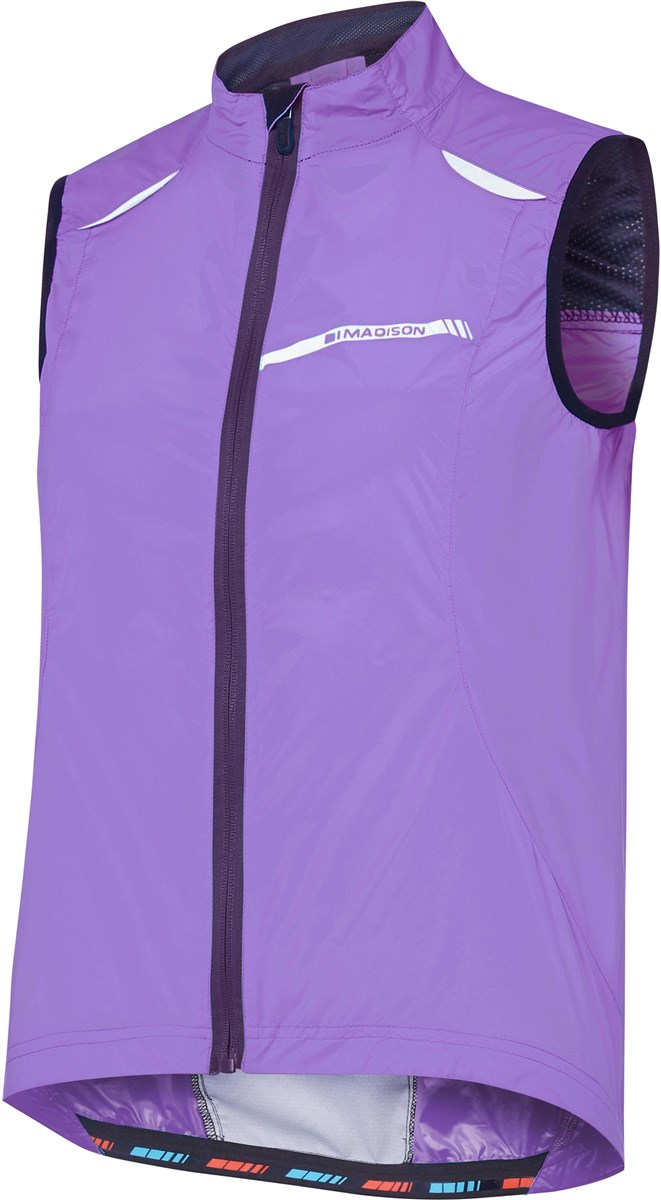 Madison Sportive Womens Windproof Gilet   Vests