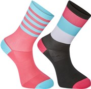 Madison Sportive Mens Mid Sock Twin Pack