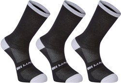 Madison Freewheel Coolmax Long Socks Triple Pack