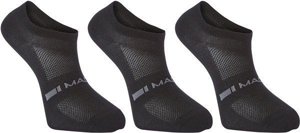 Madison Freewheel Coolmax Low Socks Triple Pack