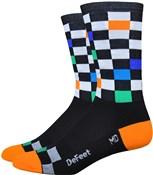 "Defeet Aireator 6"" Fast Times Socks"