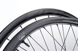 Zipp 202 NSW Carbon Clincher Tubeless Disc Brake Center Lock 24 Spoke Road Wheel