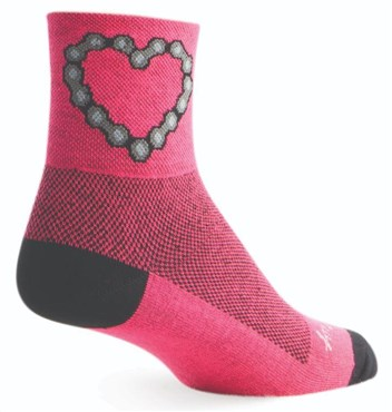 SockGuy Chain Luv Womens Socks