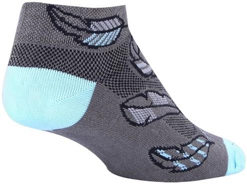 SockGuy Feather Womens Socks | Strømper