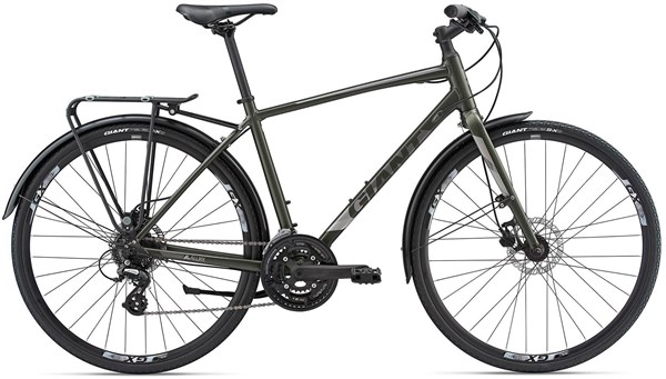 Giant Escape 2 City Disc - Nearly New - L 2018 - Hybrid Sports Bike