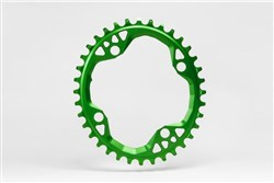 absoluteBLACK MTB Oval Chainring 104BCD & 64BCD X 4 Bolt