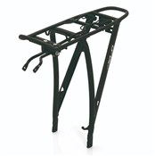 "Product image for XLC Alu Carrier Pannier Rack 26"" with Spring Clip (RP-R04)"