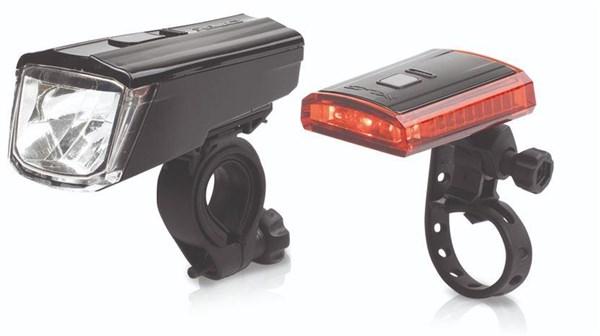 XLC Comp Light Set Titania (CL-S16) | Lygtesæt