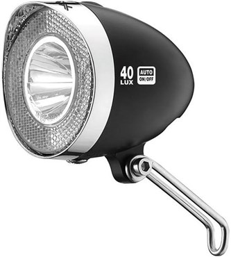 XLC Headlights LED Retro 40L with Switch, Sidelight and Sensor (CL-D04)