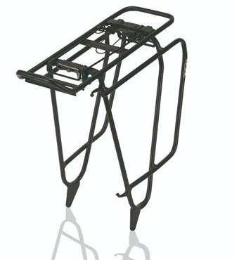 XLC Fatbike Carrymore Pannier Rack with Spring Clip (RP-R15) | Rear rack