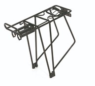 "Product image for XLC Alu Carrier Pannier Rack 26-28"" with Spring Clip (RP-R08)"