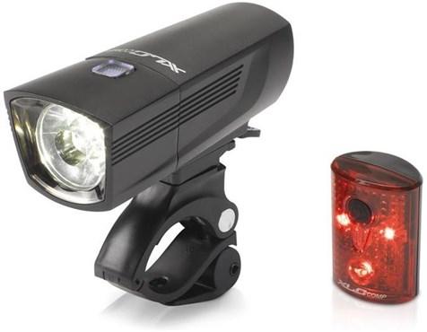 XLC Comp Light Set Francisco/Pan (CLS-15) | Lygtesæt