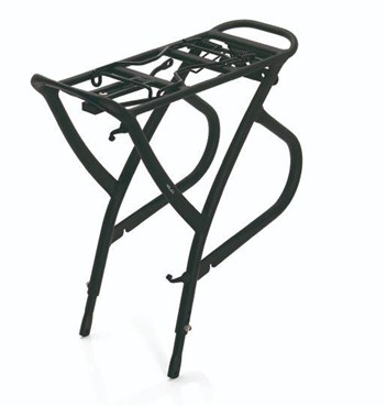 "XLC Alu-Carrier Pannier Rack 26-28"" with Spring Clip (RP-R01)"