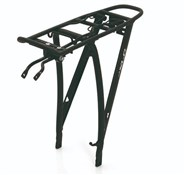 "Product image for XLC Alu Carrier Pannier Rack 28"" with Spring Clip (RP-R04)"
